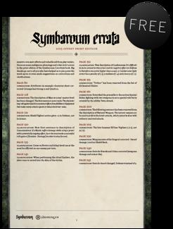 Symbaroum - English Errata