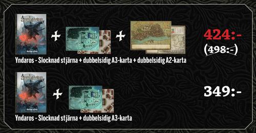 FÖRKÖPSERBJUDANDE: Yndaros + A2-karta