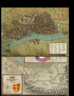Symbaroum - Karta: Yndaros & Grevskap