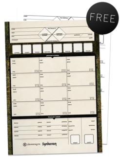 Downloadable Character Sheets