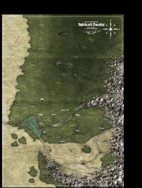 Symbaroum – karta