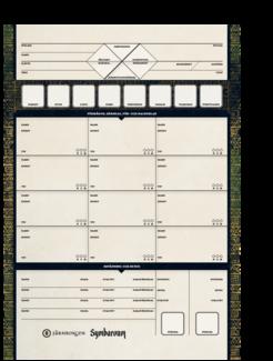 Symbaroum - Rollformulär 2.0